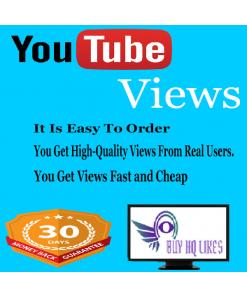 Buy 1000 YouTube Views $1