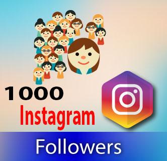 Buy 1000 Instagram Followers