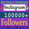 Buy 100000 Instagram Followers